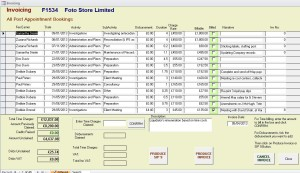 Form for SIP9 or Invoicing